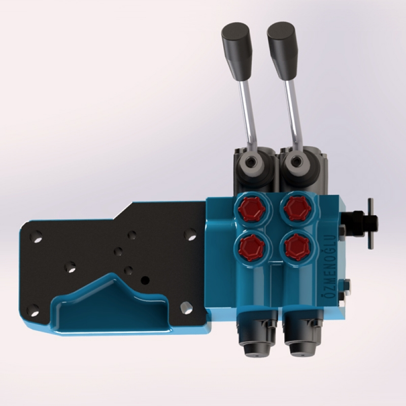 Hydraulic Directional Control Valve Kit for Tractors | OZMENOGLU HYDRAULİC
